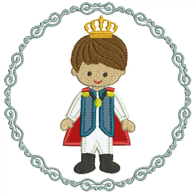 Principe na Moldura - Aplique