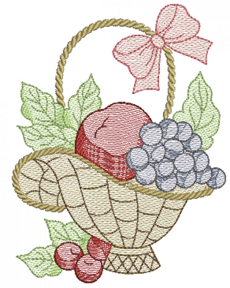 Cesta de Frutas - Rippled