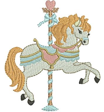 Cavalinho Carrossel - Ponto Cheio