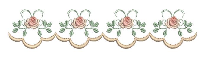 Barrinha de Rosas – Ponto Cheio