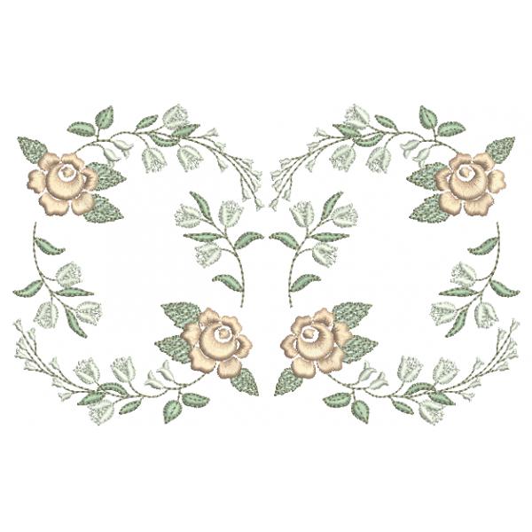 Ramo de Rosas - Ponto Cheio