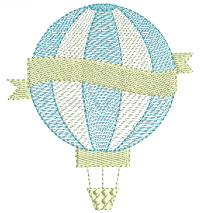 Balão com Faixa - Rippled