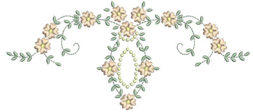 Raminho com Florzinhas