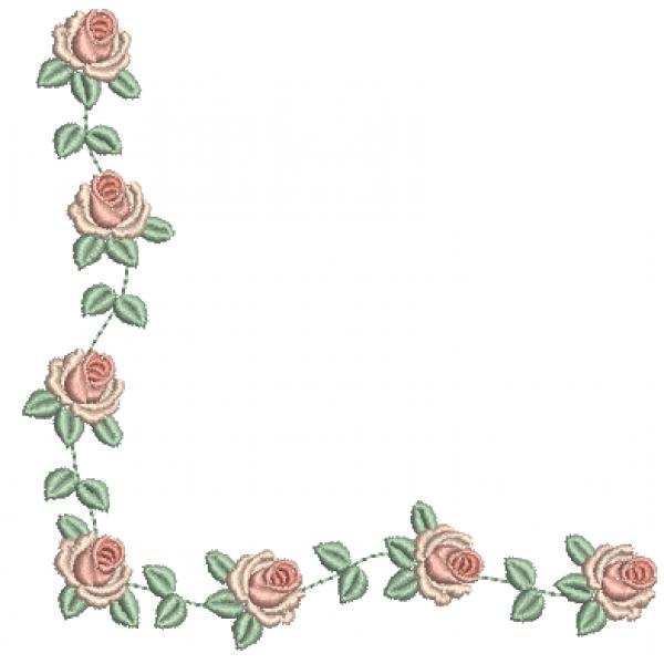 Cantoneira e Rosas - Ponto Cheio