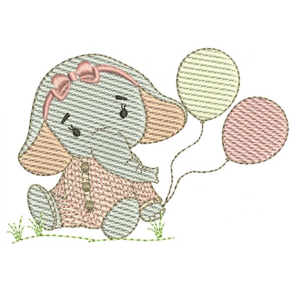 Elefanta e Bexigas - Pontos Leves