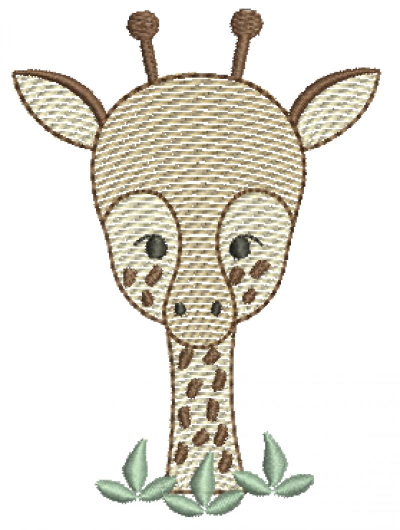 Girafa Meio Corpo - Rippled