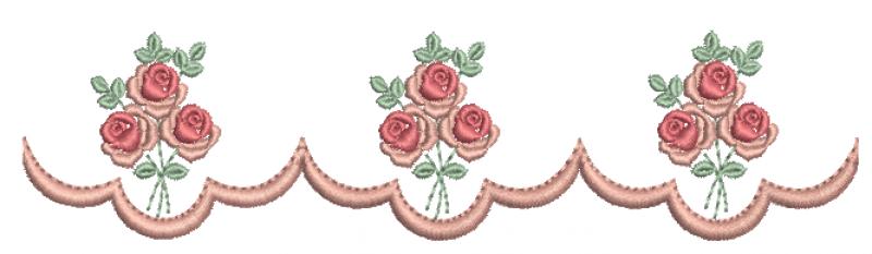 Barrinha com Rosas