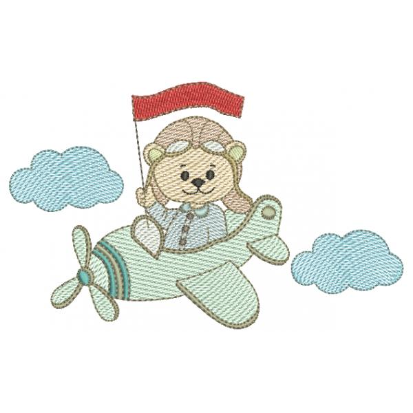 Urso Aviador - Pontos Leves