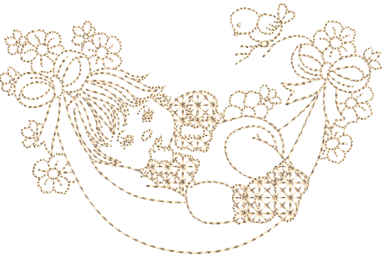 Bebê Menina na Rede - Ponto Corrido
