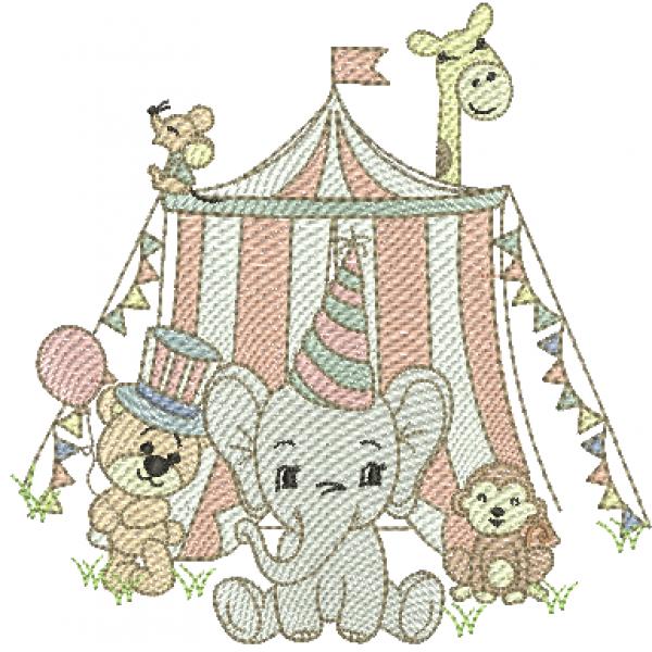 Circo e Animais - Pontos Leves