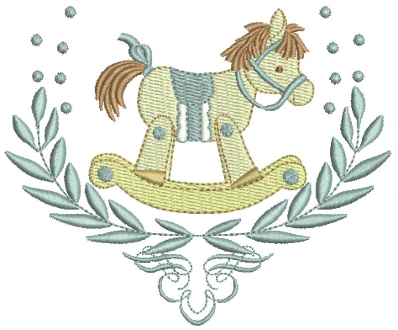 Ramo e Cavalinho de Balanço - Ponto Cheio