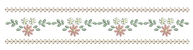 Barradinho de Florzinha e Margaridas