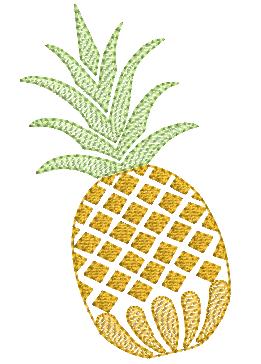 Abacaxi em Dupla - Rippled