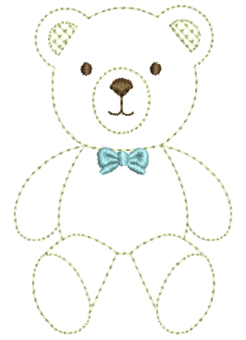 Urso com Gravata - Ponto Corrido