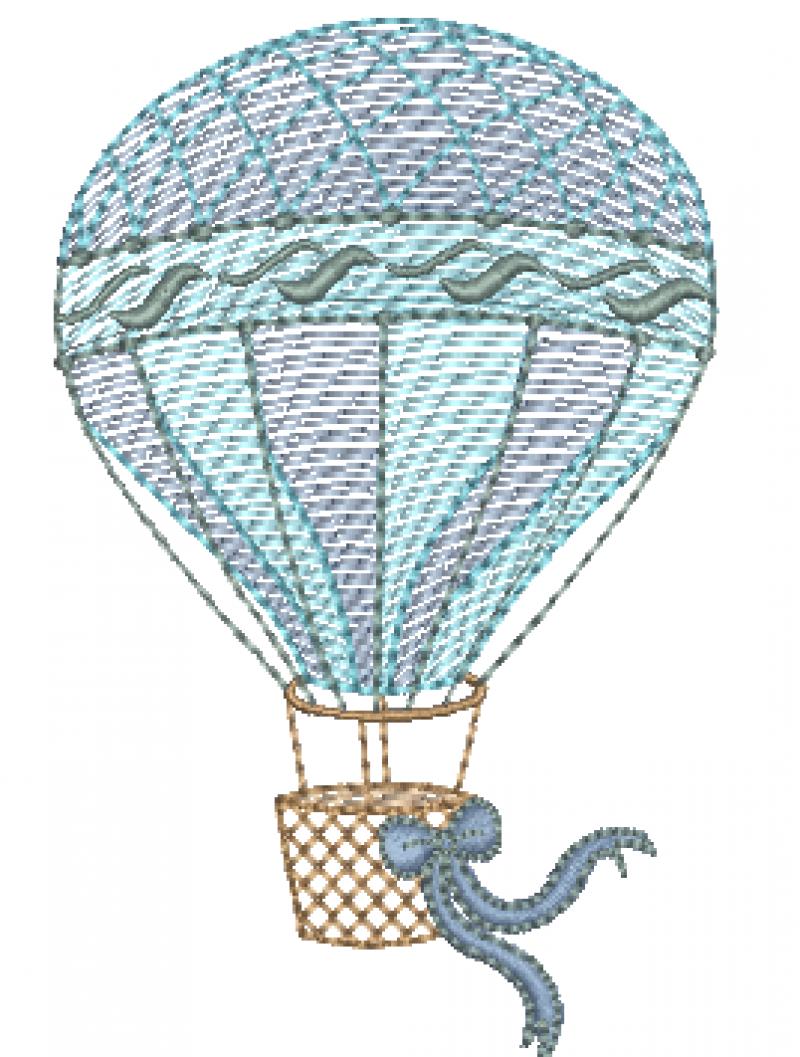 Balão com Laço - Rippled