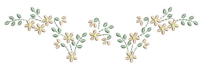 Florzinhas Delicadas - Ponto Cheio