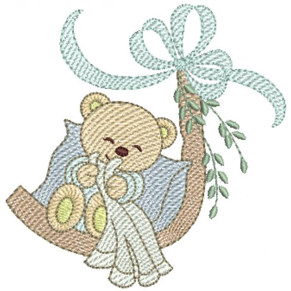 Urso Dormindo - Pontos Leves