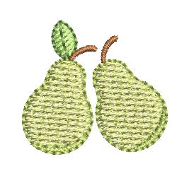 Duas Peras Infantis - Tamanhos Pequenos