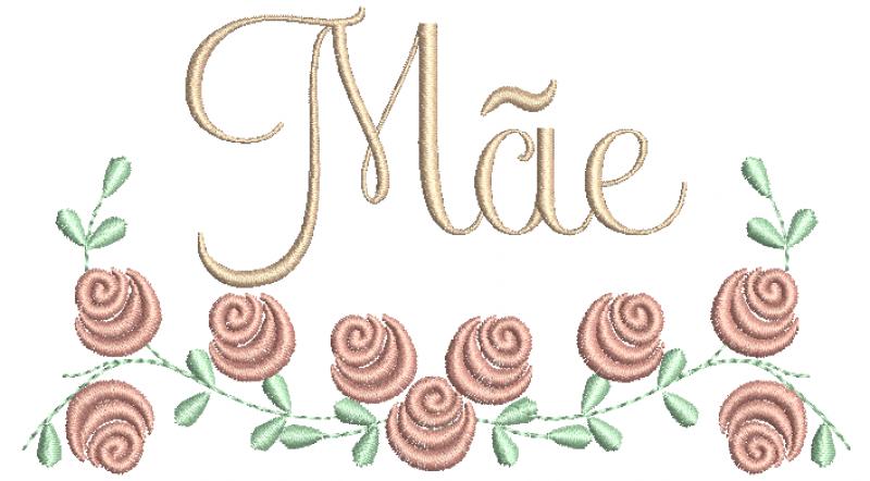 Rosas Pequenas Mãe - Ponto Cheio