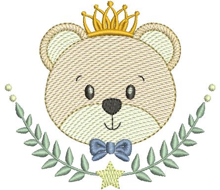 Urso no Raminho - Rippled