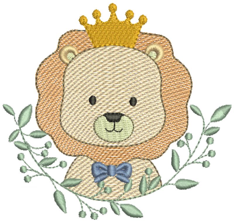 Leão Real no Ramo - Rippled