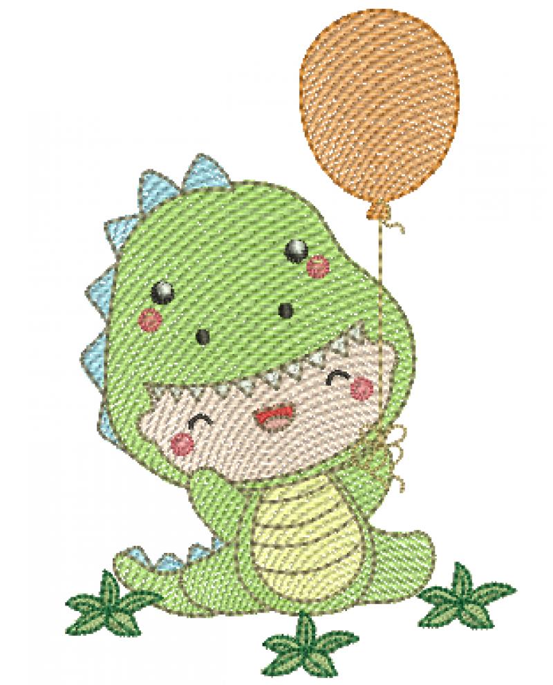 Menino Dinossauro - Rippled