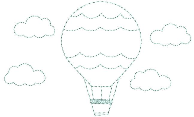 Balão em Ponto Corrido