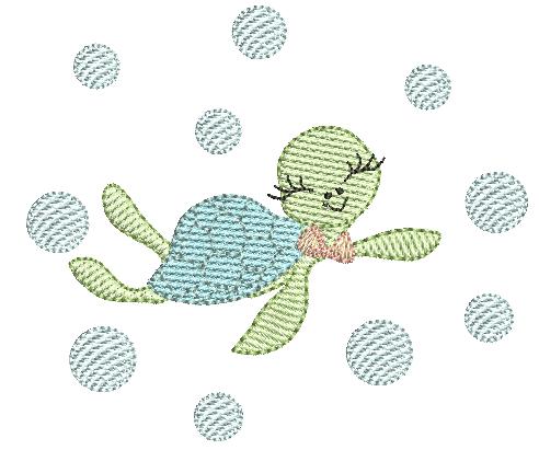 Tartaruga Marinha - Pontos Leves