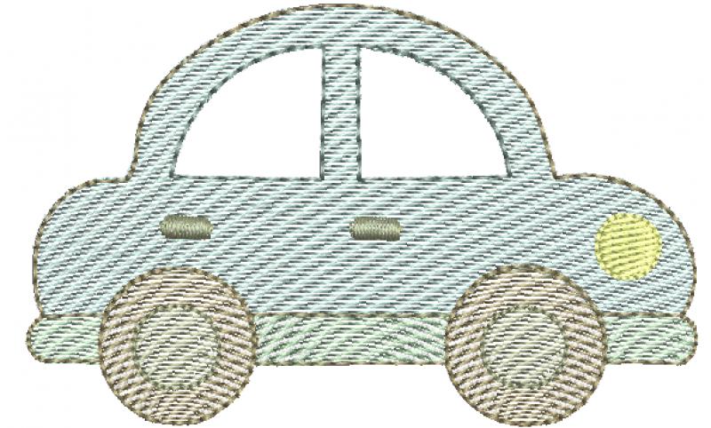 Carro Infantil Tamanhos Pequenos - Rippled