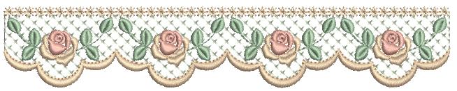 Barrinha de Rosas e Crivo