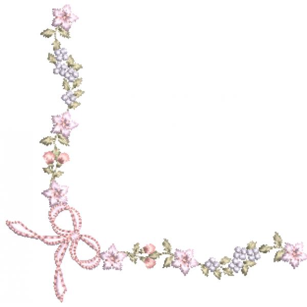 Cantoneira e Florzinhas - Pontos Cheio