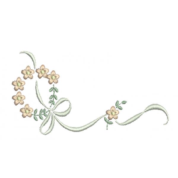 Florzinhas e Laços - Ponto Cheio