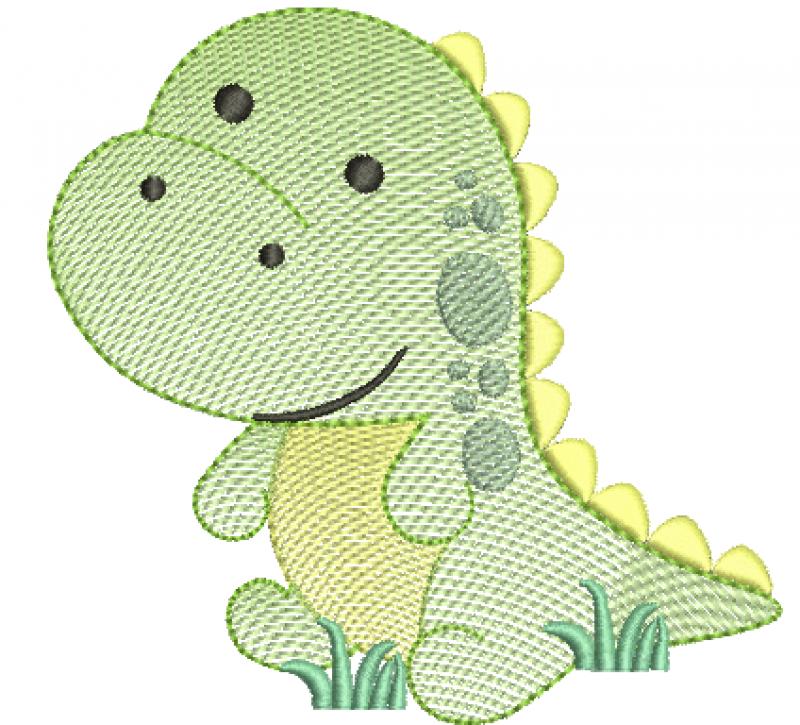 Dinossauro Tiranossauro Rex Baby - Ripplep