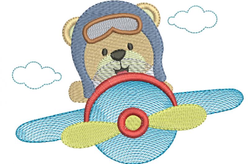 Urso Aviador - Rippled