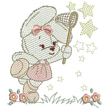 Coelha e Estrelas - Rippled