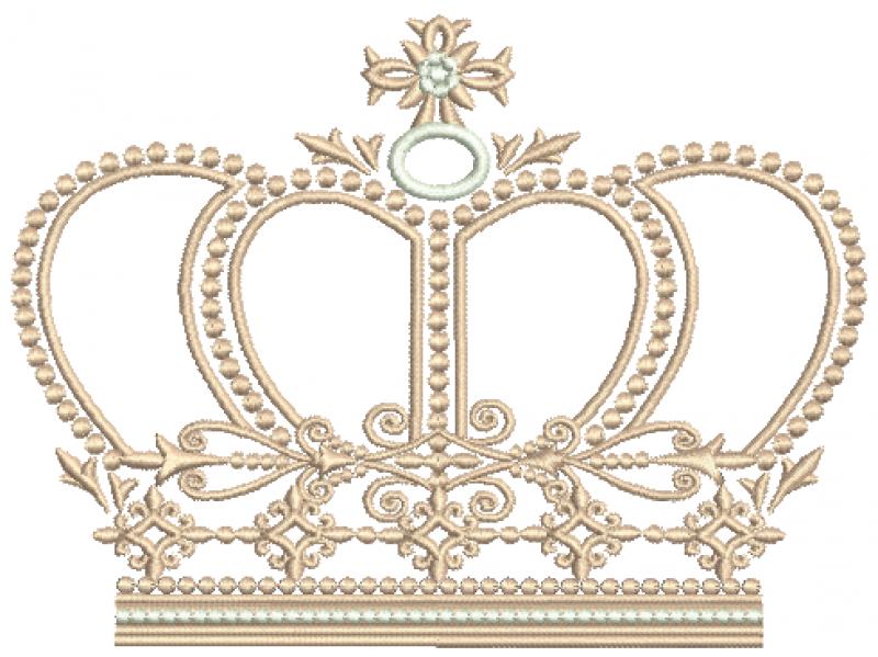 Coroa Realeza - Ponto Cheio