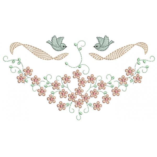 Passarinhos e Florzinhas - Ponto Leves e Cheio