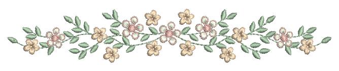 Raminho de Florzinhas – Ponto Cheio