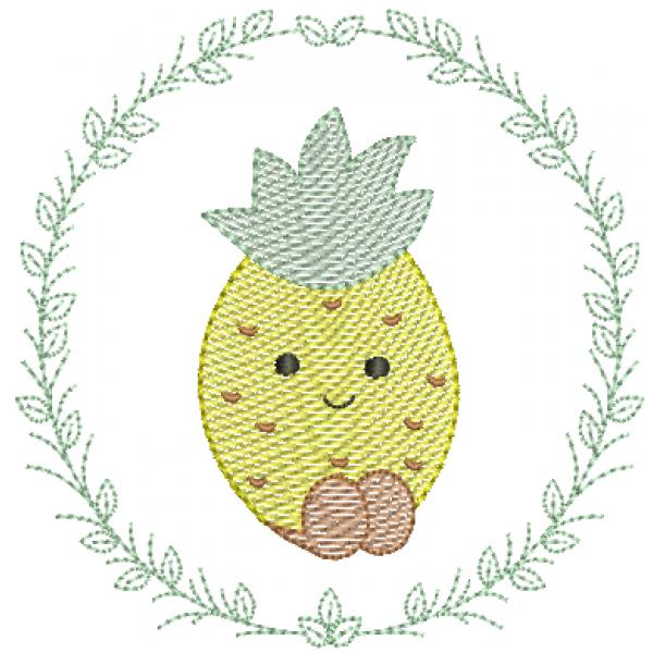 Abacaxi na Moldura - Pontos Leves