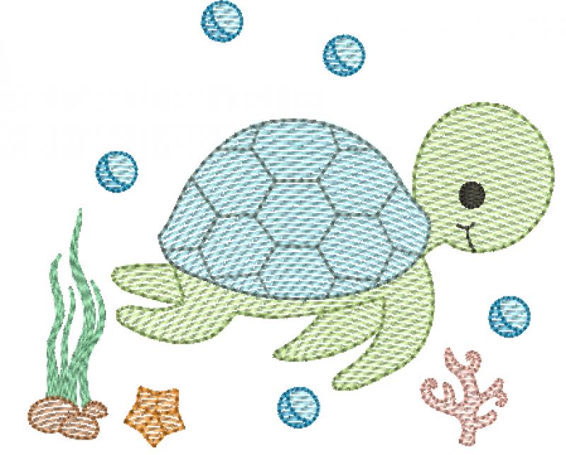 Tartaruga Marinha - Rippled