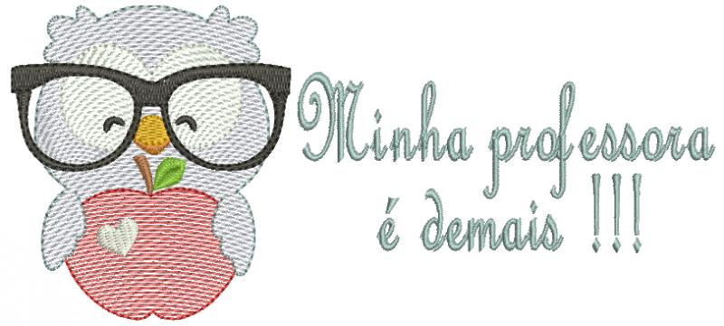 Corujinha Minha Professora é Demais - Rippled