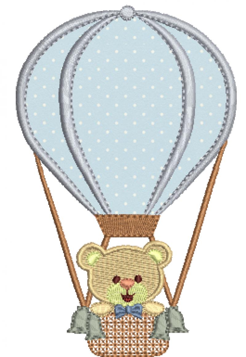 Urso no Balão - Aplicação