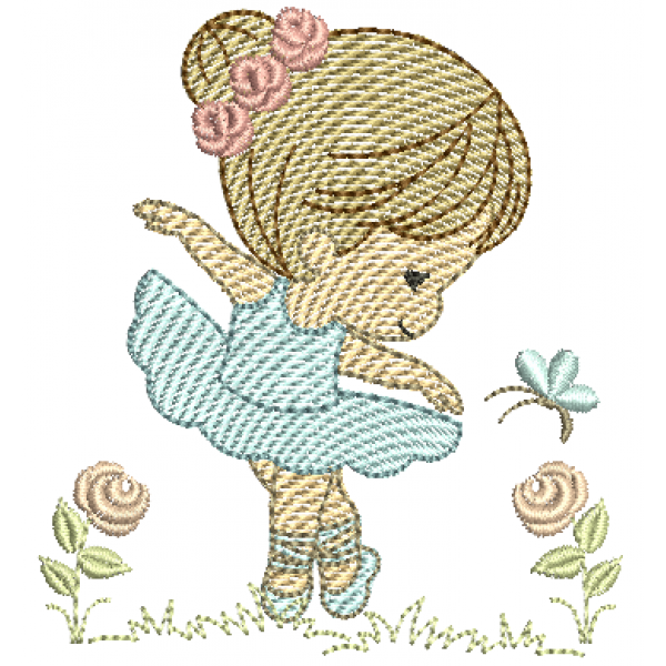 Bailarina Cute - Pontos Leves