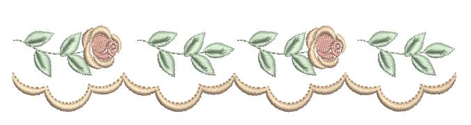 Barrinha Galho de  Rosas – Ponto Cheio
