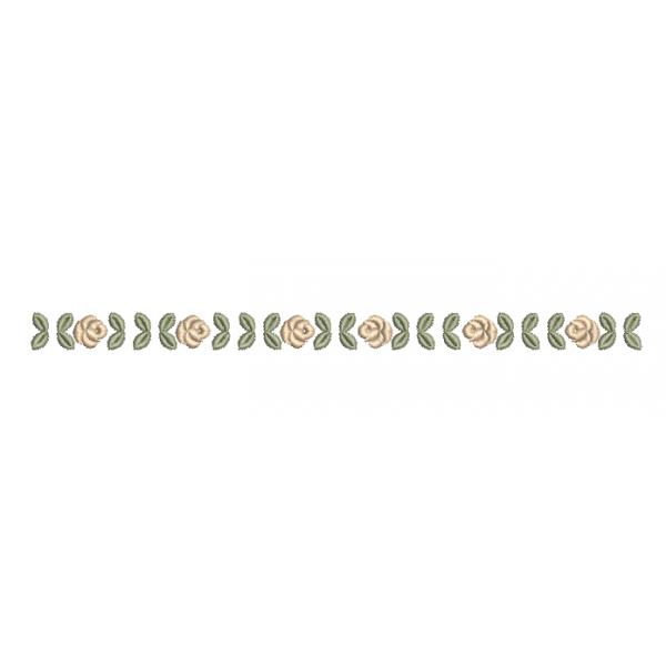 Barrado de Rosas  - Pontos Cheio