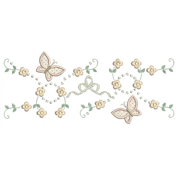 Florzinhas e Borboletas 3D