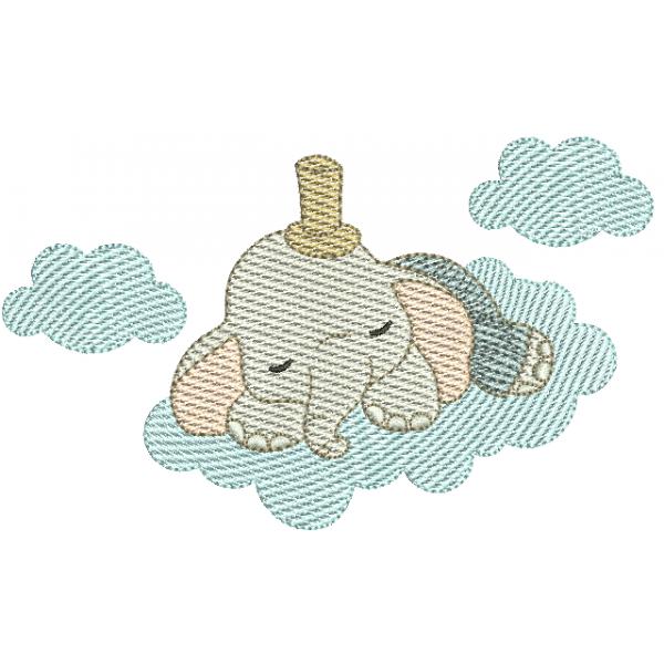 Elefante Dormindo na Nuvem - Pontos Leves