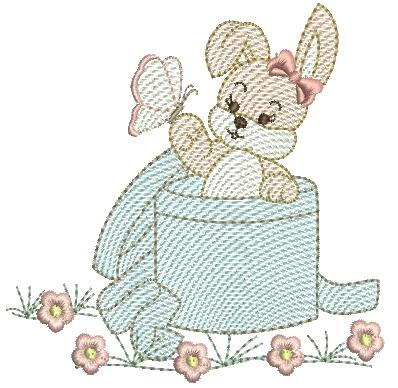 Coelha na Caixa - Rippled