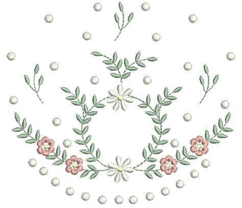 Raminho Delicado com Margaridas e Florzinhas
