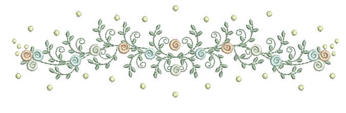 Raminho Rococó e Poás – Ponto Cheio